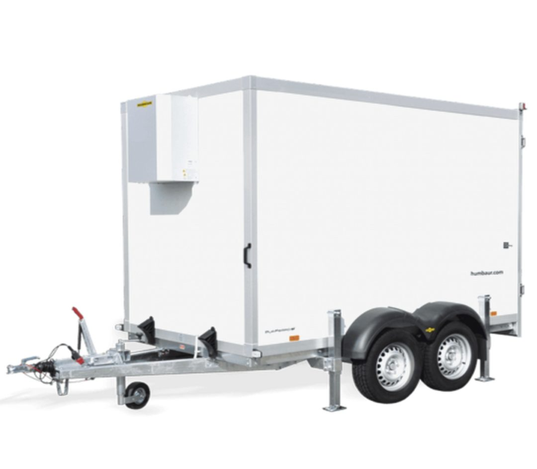 4.0m rental fridge trailer