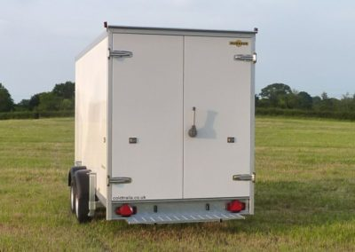 Cool-Plus fridge trailer back doors