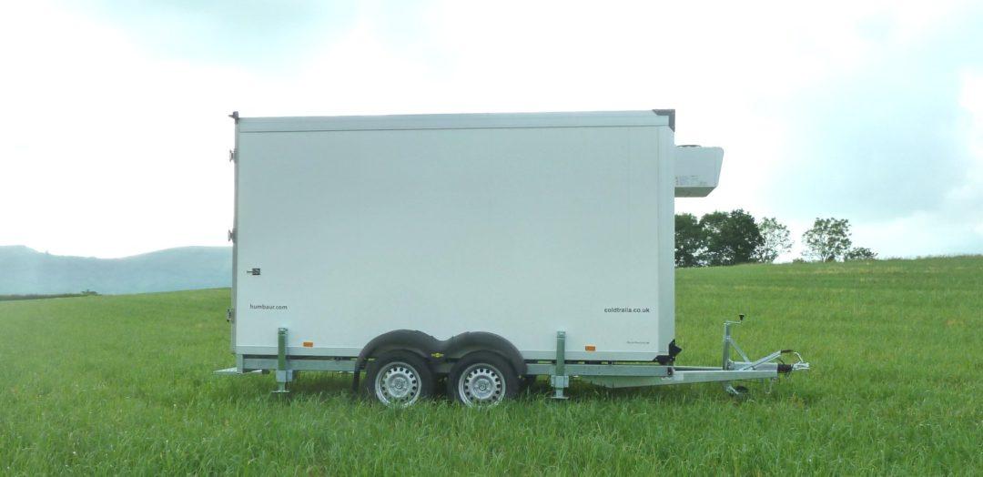 4.0m freezer trailer for rental