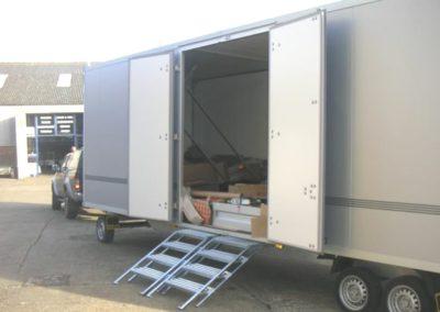 Bespoke trailer doors
