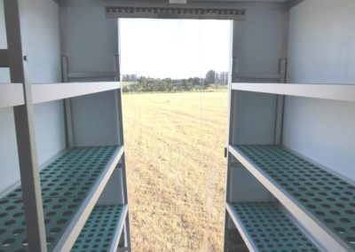 Vario-Temp Freezer Trailer - from the inside