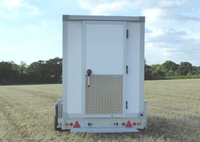 Vario-Temp Freezer Trailer - rear door