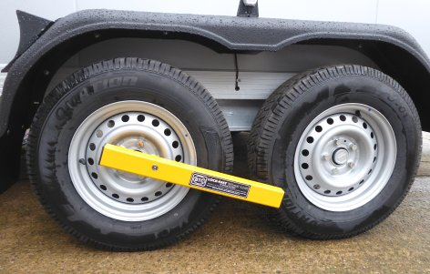 Security wheelclamp