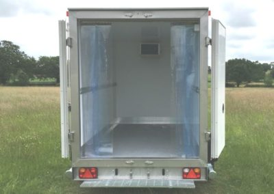 Chill-Tow and Chill-Freeze trailer - rear doors